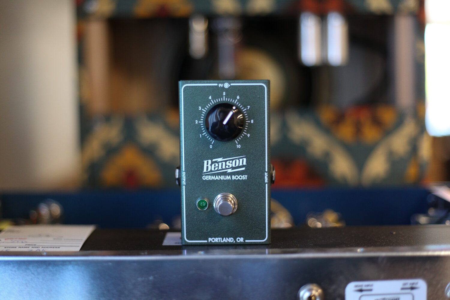 Benson Amps Germanium Boost the perfect partner for your vintage fuzz?