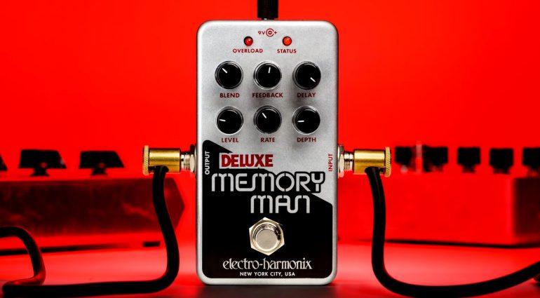 Electro-Harmonix Nano Deluxe Memory Man analog delay