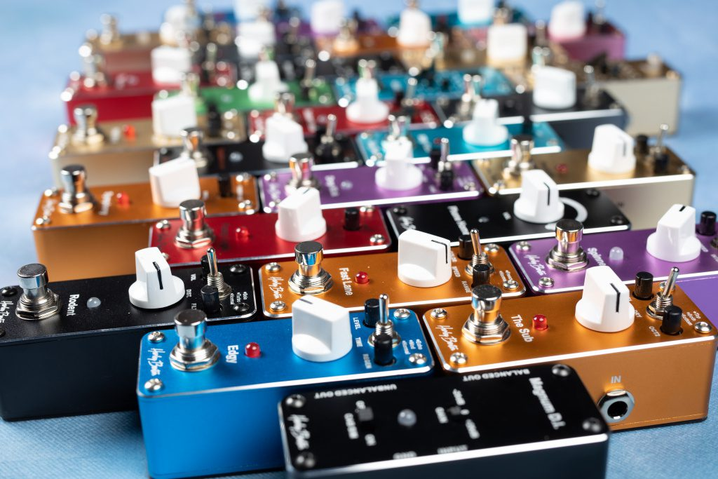 Harley Benton launches new MiniStomp compact effects pedal range