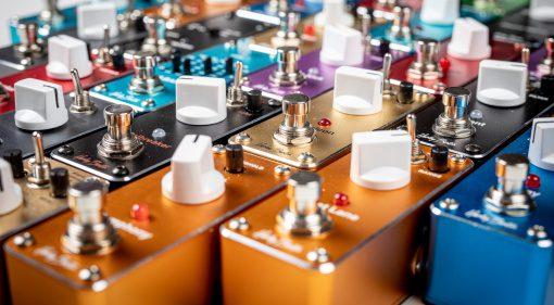 New Harley Benton MiniStomp effect pedal range