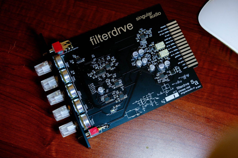 Singular Audio filterdrve board