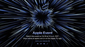 The October 18 Apple event