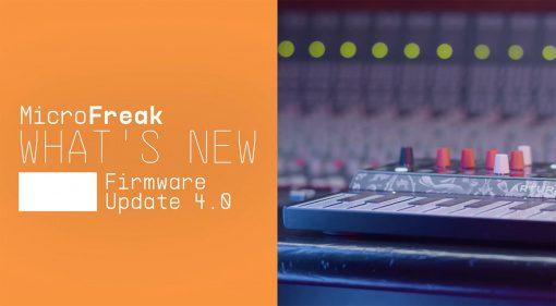 Arturia Microfreak 4.0 update