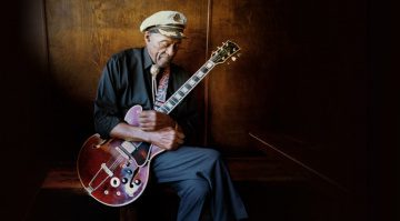 Chuck Berry 1970s ES-355 - Wine Red