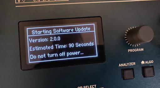 Korg Opsix 2.0 Update