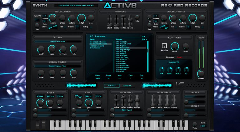Rewired Records ACTIV8