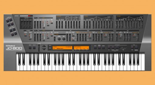 Roland JD-800 Software Synthesizer